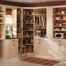 Eclectic Pantry Cabinets by Home Source Custom Draperies & Blinds