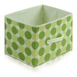 Furinno - Furinno Laci 111 Soft Storage Organizer, Green - These bins are simple and stylish in design yet functional and suitable for any room and for any age. These colorful and fun bins are perfect for cutting down on clutter and at the same time added some joyful atmosphere to your space with its thoughtful fun design. These soft storage bins are easily pull out of your storage space thanks to the sewn in handle. Durable, eye-catching and easy to use. Furinno thinks of ways to fit in your space and fit on your budget.
