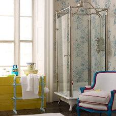 Eclectic  Vintage bathroom - Living Etc, April 09
