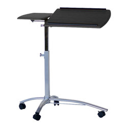 Mayline - Mayline Eastwinds 950 Laptop Caddy-Medium Cherry - Mayline - Mobile Laptop Carts - 950MEC - Get the right desk for your home computing needs and your personal lifestyle. Choose the Mayline Eastwinds 950 Laptop Caddy and enjoy the versatility of your laptop and home wireless network.
