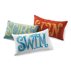 Modern Outdoor Pillows by Grandin Road