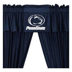Store51 LLC - Penn State Nittany Lions Long Curtains-Drapes Valance Set - Features: