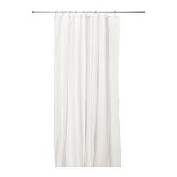 EGGEGRUND Shower curtain - Shower curtain, white