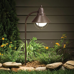 Kichler - Kichler Seaside Outdoor Landscape Lighting Fixture in Olde Bronze - Shown in picture: Landscape Path & Spread in Olde Bronze