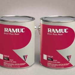RAMUC Pool Paint - Type EP Epoxy Swimming Pool Paint - Monument Gray (1 Gallon) - Type EP Epoxy Swimming Pool Paint - Monument Gray 1 gallon