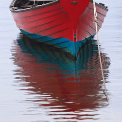 Wooden Boat Photo Print -