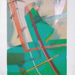 William Schwedler, Snap Judgement, Serigraph - Artist:  William Schwedler, American (1942 - 1982)