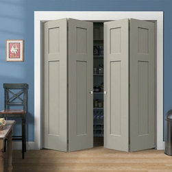 Craftsman Molded Interior Doors - Respecting tradition, embracing innovation - Good selection of bifold styles available.