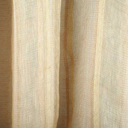 Seven Veils Sheer Drapery Fabric in Wood Rose - Seven Veils Sheer Drapery Fabric in Wood Rose is a blush pink sheer fabric made from 100% Linen, perfect for window treatments and canopies. The soft, neutral colorway creates a feminine look. Made in Belgium. Width 52″; Repeat: 13″H