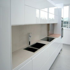 Modern Kitchen Cabinetry by Stone Trend Design & Build Inc.