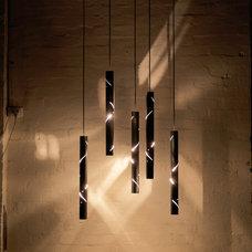 Contemporary Pendant Lighting by ilanel. light life.