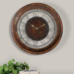 "6659 Wall Clocks Clocks by uttermost - Get 10% discount on your first order. Coupon code: ""houzz"". Order today."