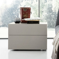 Rossetto - Eclipse Secret White Nightstand - Eclipse Secret White Nightstand