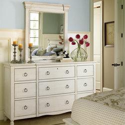 Nine Drawer Dresser -  Summer Hill Collection - Summer Hill 9 Drawer Dresser