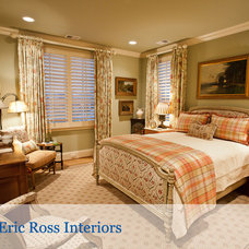 Traditional Bedroom by Eric Ross Interiors, LLC