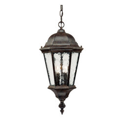"Acclaim Lighting - Acclaim Lighting 5516 Telfair 2 Light 20"" Height Outdoor Pendant - Acclaim Lighting 5516 Telfair Two Light 20"" Height Outdoor PendantThis grand outdoor pendant from the Telfair Collection will add a delightful traditional look to your exterior d�cor.Acclaim Lighting 5516 Features:"