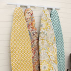 PB Ironing Board Covers - Ironing is sometimes essential, so why not make it pretty with these stylish ironing board covers?
