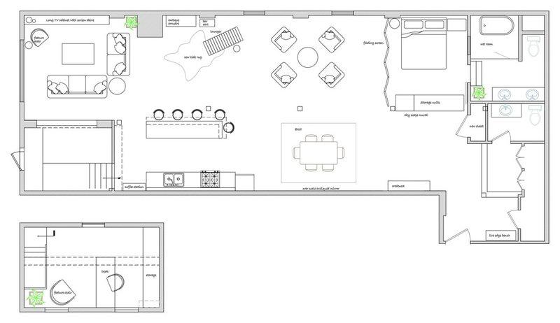 Floor Plan A Design Consultation and DIY Spirit Reinvents an Industrial Loft