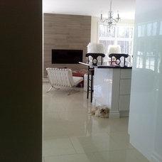 Modern Living Room by Sonia Daigle