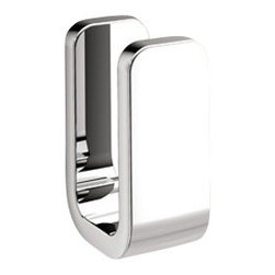 Gedy - Polished Chrome Single Robe Hook - A contemporary hook that is made in brass and finished with chrome.