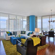 Contemporary Living Room by Studio M Interior Design