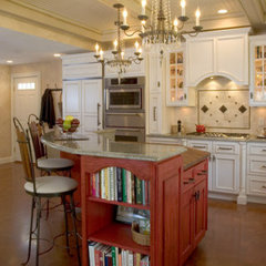 traditional kitchen islands and kitchen carts by Kitchens By Design, Inc.