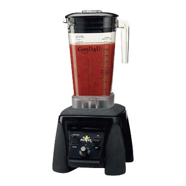 """GOOD4U - GooD4U Variable Speed Raw Power 64oz 110 Volt Blender, 18""""H X 8.5""""W X 8.25""""D - GooD4U Variable Speed Raw Power Blender is designed to handle the toughest ingredients. The 64 ounce container is made of BPA-Free Co polyester. Blade is made of stainless steel which can easily blend hard ingredients. The 45,000 variable speed motor provides the flexibility to prepare a large variety of smoothies, purees, soups and other concoctions easily and quickly. Delicious smoothies and frozen drinks can be made in record time."""