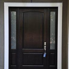 Traditional Front Doors by Calibre Doors & Millwork Ltd