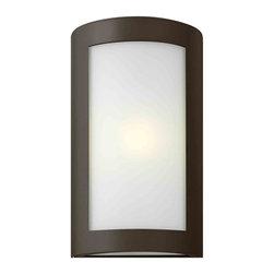Hinkley Lighting - Hinkley Lighting 2024BZ Solara Bronze Outdoor Wall Sconce - Hinkley Lighting 2024BZ Solara Bronze Outdoor Wall Sconce
