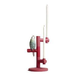 Lladro - Lladro Parrot Star Candleholder 7858 - Lladro Parrot Star Candleholder 7858
