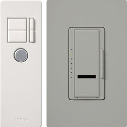 Lutron - Maestro IR Incandescent Dimmer with IR Remote Control - Multi-location - Multi-location incandescent/halogen dimmer with IR remote control. Available in 600W or 1000W capacity. Wallplate sold separately.