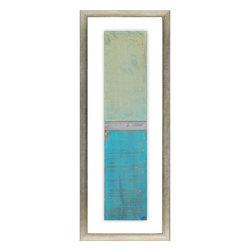 Paragon Decor - Oceanic Dream I Artwork - Exclusive Hand Painted Mixed Media - No Glass