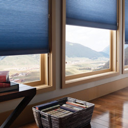 Honeycomb/Cellular Shades - Honeycomb or Cell Shades : one of our most popular sellers! Starting at $38.13 on Shades Shutters Blinds! Available in light-filtering or black out fabrics. Many options and features available!