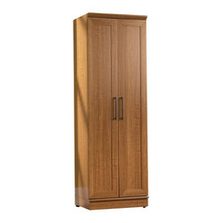 Sauder - Sauder Homeplus Storage Cabinet in Sienna Oak Finish - Sauder - Pantry - 411963 -