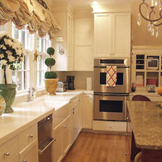 kitchen by K.Marshall Design Inc.
