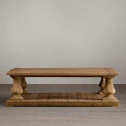 Balustrade Salvage Wood Coffee Table -