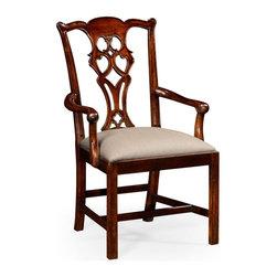 Jonathan Charles - New Jonathan Charles Chair Mahogany - Product Details