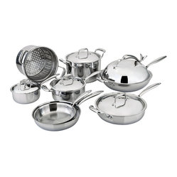 All-Ply™ 13-Piece Cookware Set