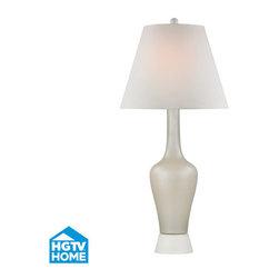 Dimond Lighting - Dimond Lighting HGTV354 Havant 1 Light Table Lamp - Features:
