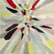Contemporary Rugs Zap by Fiona Curran