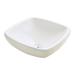 PolarisSinks - Polaris P081VB Bisque Porcelain Vessel Sink - Our extensive line of porcelain sinks will compliment any decor from the traditional to the unique. Our porcelain sinks are true vitreous China with a triple laid glaze to create the strongest sink you will find. Our porcelain sinks are extremely low maintenance. Our porcelain sinks are covered by a limited lifetime warranty. Each comes with a cardboard cutout template and mounting hardware.
