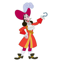 York Wallcoverings - Disney Jake Neverland Pirates Captain Hook Wall Accent - Features:
