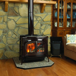 Wood Burning Stove - Made in the USA to be one of the greenest stoves