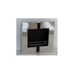 "Bowery - Modern Recessed Ventless Ethanol Fireplaces - "" BOWERY ""  Modern  Recessed Ventless Ethanol Fireplace"