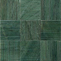 Willow Green Tatami Weave Mosaic - Fiorano Tile Showrooms is a family owned and operated business that has been serving the Long Island / NY Tri-State area since 1977.