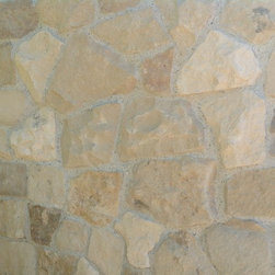 Wall Cladding - Jerusalem Stone mixed with Sandstone wall cladding