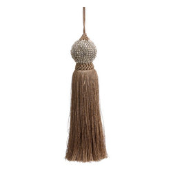Silk Plants Direct - Silk Plants Direct Jewel Ball Tassel Ornament (Pack of 3) - Pack of 3. Silk Plants Direct specializes in manufacturing, design and supply of the most life-like, premium quality artificial plants, trees, flowers, arrangements, topiaries and containers for home, office and commercial use. Our Jewel Ball Tassel Ornament includes the following: