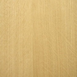 Heavy Flake Quartered White Oak Veneer - Heavy Flake Quartered White Oak veneer is a figured grade of white oak veneer produced by quarter cutting the log through medullary rays to reveal a flake or fleck pattern which is highly prized. White Oak veneer is wheat colored to a light golden brown and is one of the most common woods used today. Available in a variety of backers and sizes.