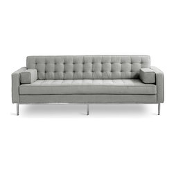 Gus - Spencer Sofa, Totem Pebble - Spencer Sofa by Gus Modern