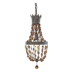 Murray Feiss - Murray Feiss Marcia Traditional Pendant Light X-IR7721P - Murray Feiss Marcia Traditional Pendant Light X-IR7721P